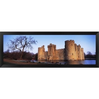 'Bodiam Castle, East Sussex, England' Framed Panoramic Photo