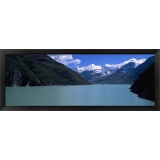'Grande Dixence Dam, Valais Canton, Switzerland' Framed Panoramic Photo