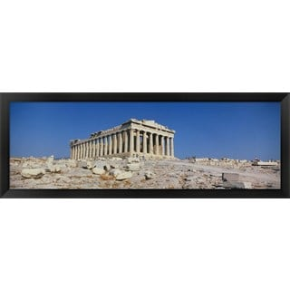 'Parthenon Athens Greece' Framed Panoramic Photo