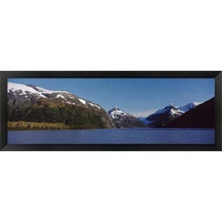 'Chugach National Forest, Anchorage, Alaska' Framed Panoramic Photo