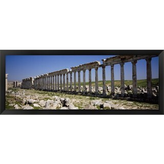 'Cardo Maximus, Apamea, Syria' Framed Panoramic Photo