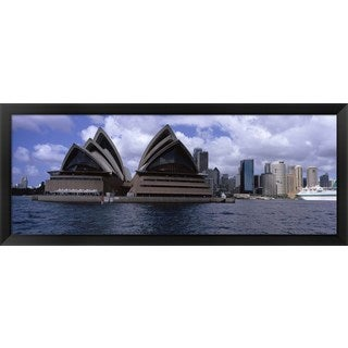 ' Sydney Opera House, Sydney, Australia' Framed Panoramic Photo