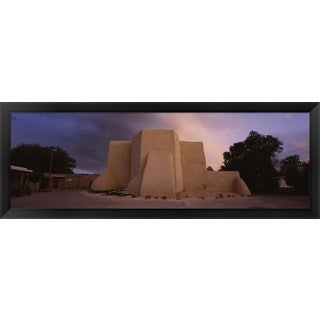 'San Francisco de Asis Church, Ranchos De Taos, New Mexico' Framed Panoramic Photo