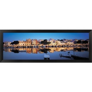 'Porto, Spain' Framed Panoramic Photo