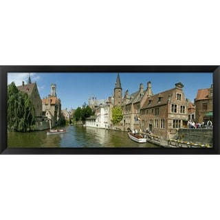 'Bruges, Belgium' Framed Panoramic Photo