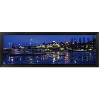 'Stockholm, Sweden' Framed Panoramic Photo