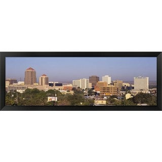 'Albuquerque, New Mexico' Framed Panoramic Photo
