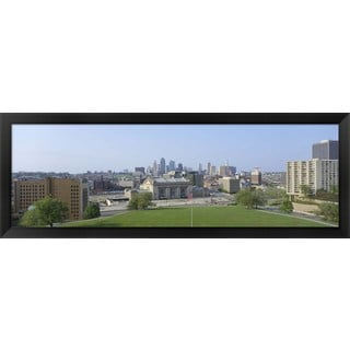 'Kansas City, Missouri' Framed Panoramic Photo
