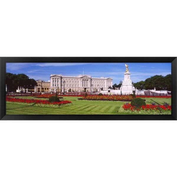 'Buckingham Palace, London, England' Framed Panoramic Photo