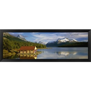 'Jasper National Park, Alberta, Canada' Framed Panoramic Photo