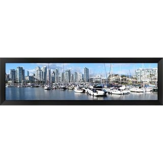 'False Creek, British Columbia, Canada' Framed Panoramic Photo