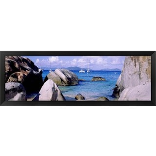 'Virgin Gorda, British Virgin Islands' Framed Panoramic Photo