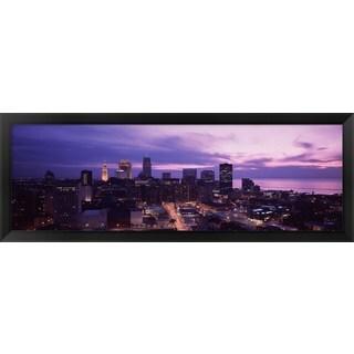 'Cleveland, Ohio' Framed Panoramic Photo
