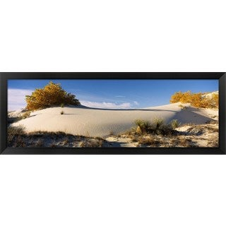 'White Sands National Monument, New Mexico' Framed Panoramic Photo