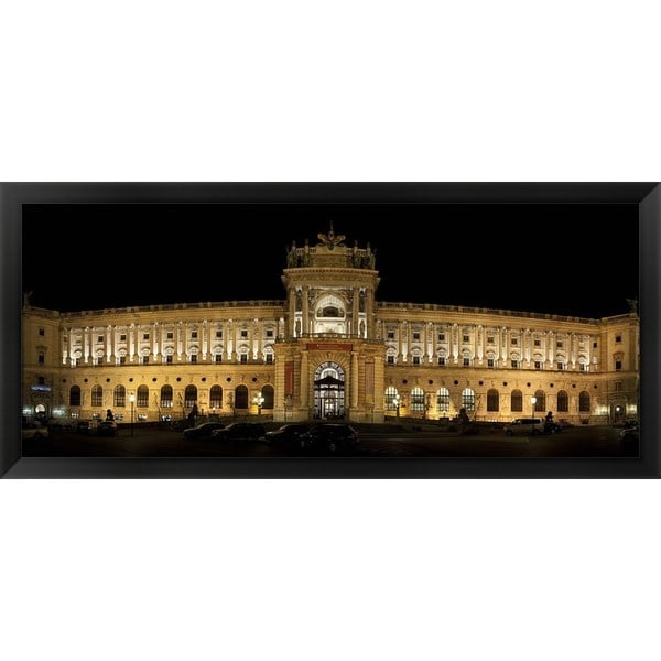 'The Hofburg Complex, Vienna, Austria' Framed Panoramic Photo