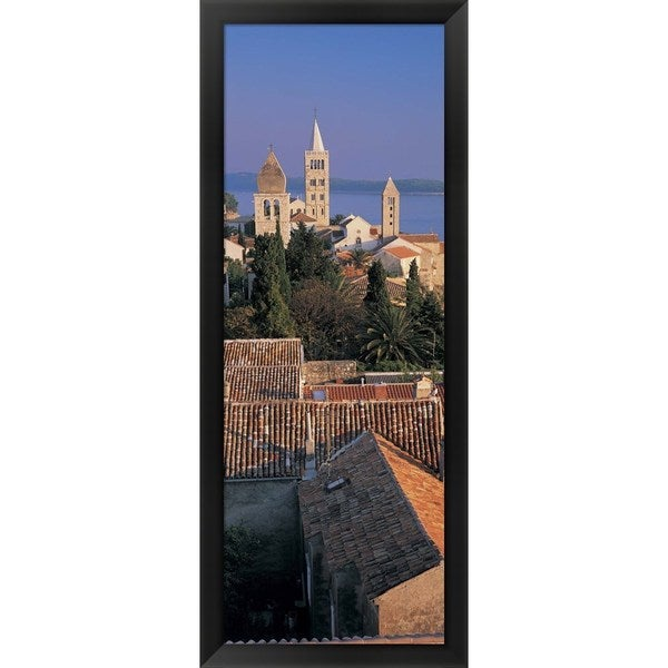 'Rab Island, Croatia' Framed Panoramic Photo