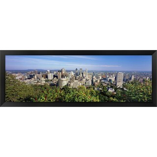 'Montreal, Canada' Framed Panoramic Photo