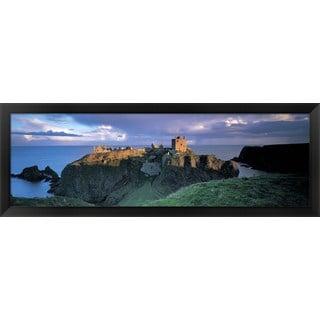 'Stonehaven, Scotland' Framed Panoramic Photo