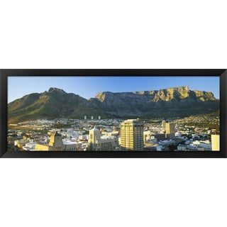 'Cape Town, South Africa' Framed Panoramic Photo