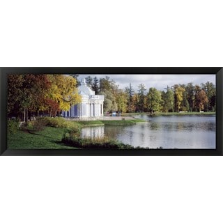 'Grotto, Catherine Palace, St. Petersburg, Russia' Framed Panoramic Photo