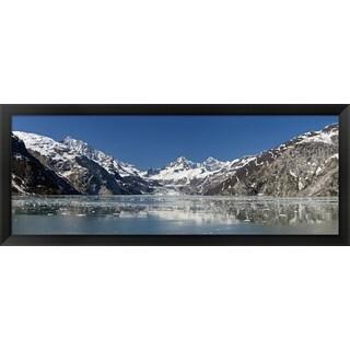 'Glacier Bay National Park, Alaska' Framed Panoramic Photo