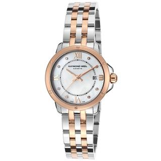 Raymond Weil Women's 'Tango' Rosetone Two-tone Stainless Steel Watch