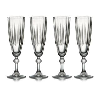 Reflections Champagne Flutes (Set of 4)