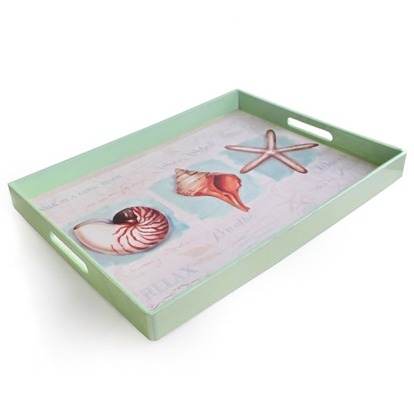 Coastal Jewels Rectangular Tray