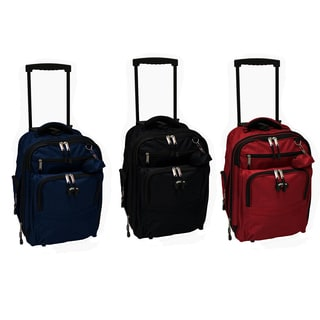 Verucci Expandable Rolling Carry-On 18-inch Backpack