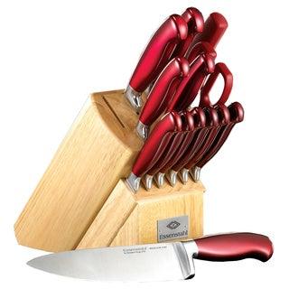 Hampton Forge Signature Argentum 14-piece Knife Set with Block