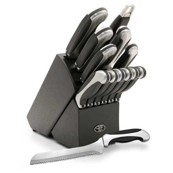 Hampton Forge Conn Majestic 13-piece Cutlery Set with Block