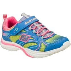 Girls' Skechers Lite Kicks Rainbow Sprite Periwinkle/Multi