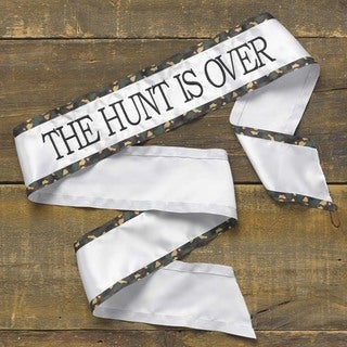 Hortense B. Hewitt Hunt Is Over Brown Camo Sash