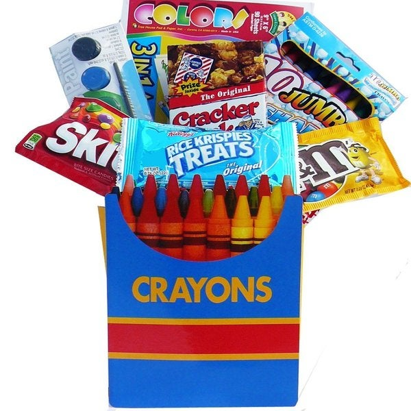 Color Me Crazy Playtime Snacks & Activity Gift Bag Set