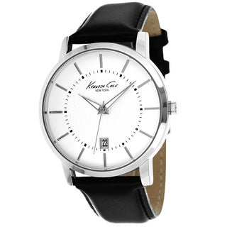 Kenneth Cole Men's KCW1011 New York Black Leather Watch