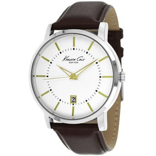 Kenneth Cole Men's KCW1015 New York Leather Watch