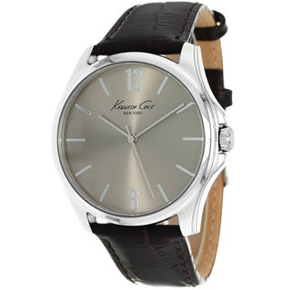 Kenneth Cole Men's KCW1038 New York Black Leather Watch