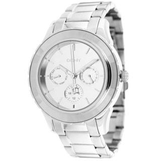 DKNY Women's NY2117 Mirror Dial Stainless Steel Multifunction Watch