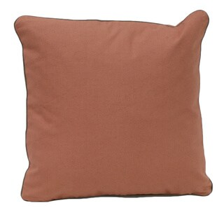 Brown Organic Cotton Solid Pillow (Set of 2)