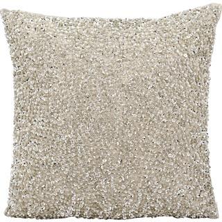 "Nourison Michael Amini Pillow FM002 Silver 18"" x 18"""