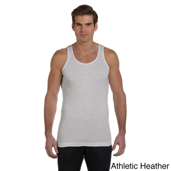 Canvas Men's Ribbed Cotton Tank Top