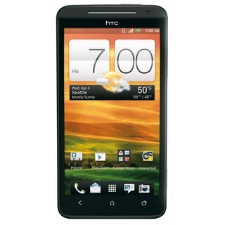 HTC Evo 4G LTE Sprint CDMA Black Android Cell Phone
