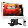 Pyle 10.2-inch TFT/LCD White Headrest Monitor (Refurbished)