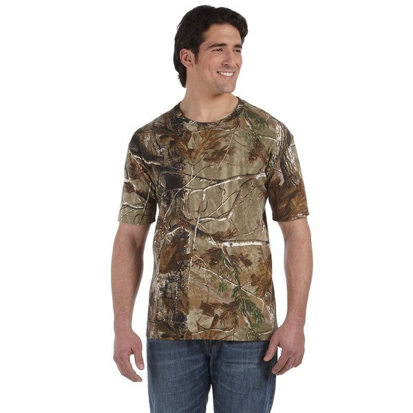 Code V Men's Camouflage Short Sleeve T-shirt