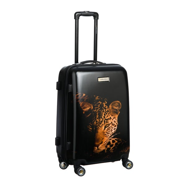 National Geographic Explorer Balboa Collection Leopard 24-inch Medium Hardside Spinner Upright Suitcase