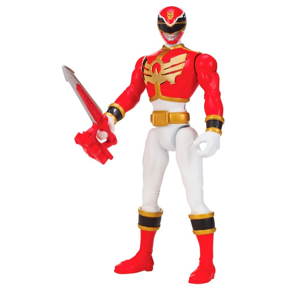 Power Rangers Deluxe SFX Mega Red Ranger