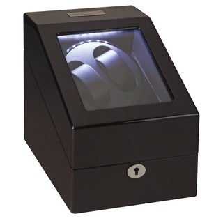 Diplomat Phantom LED Double Watch Winder and Storage Case