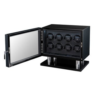 Volta 8-watch LED Carbon Fiber Watch Winder
