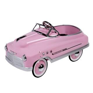 Purple Mountain Toy Pink Comet Sedan Pedal Car