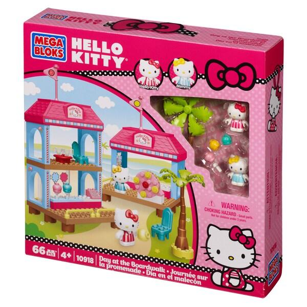 Mega Bloks Hello Kitty Boardwalk